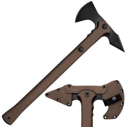 Топор Cold Steel модель 90PTHF Trench Hawk Dark Earth